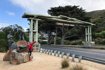 Great Ocean Road Sign