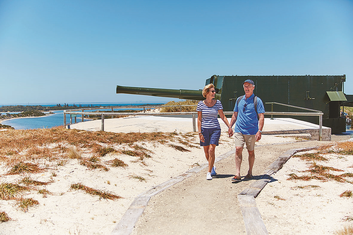 Oliver Hill Lookout Rottnest Island