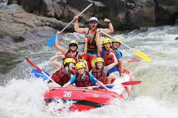 Barron River Rafting + Green Island Ex Cairns