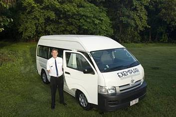 Cairns Airport to or from Cairns Beaches - 13 Seat Private Transfer (per vehicle)